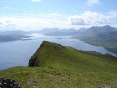 Raasay Sound from Ben Tianavaig