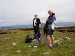 Jim and Euan on An Cruaidh