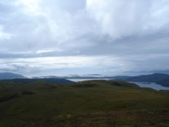 Scarba, Luing, Garvellochs and Mull from Cruach na Seilcheig