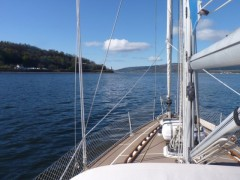 Approaching Cloch Light