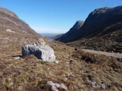 Tahaval from the bealach