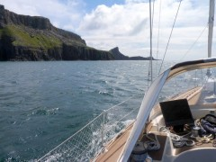 Approaching Neist Point