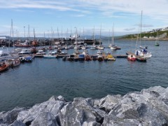 Pontoons at Mallaig