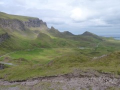 The Quiraing from Bioda Buidhe