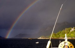 Rainbow - Loch Carron