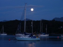 Full Moon - Arisaig